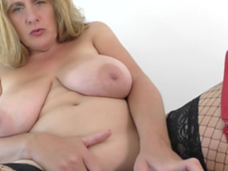 Mother with big natural tits loves kinky sex natural