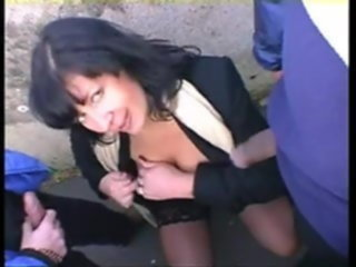 Well fucked mature takes cocks in all her holes mature