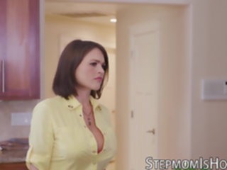 Lucky guy is banging two MILFs Krissy Lynn and Brandi Love guy