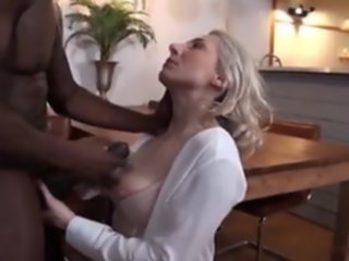 Hot French MILF takes BBC milf
